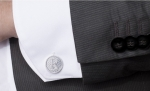 DO YOU WANT TO GIVE A CUFFLINK WITH AN INITIAL?