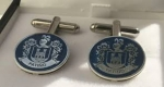HOW TO MAKE COAT OF ARMS CUFFLINKS PERSONALIZED